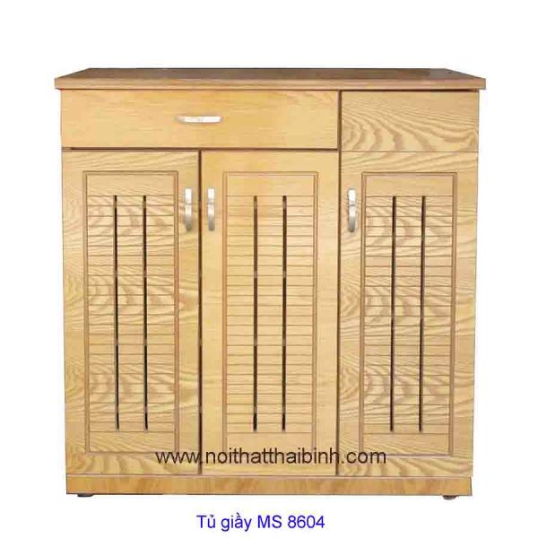 Tủ giầy gỗ sồi