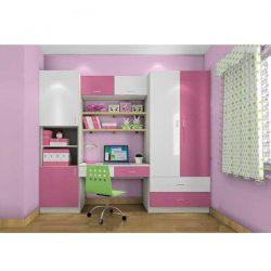 Bộ tủ áo bàn học trẻ em MS8927