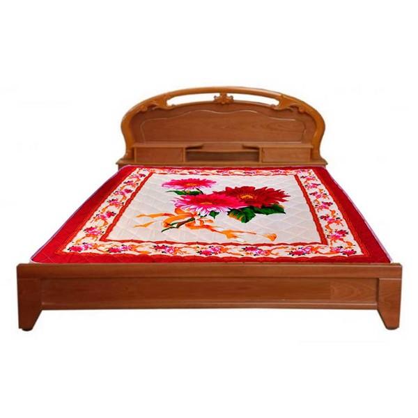 Giường ngủ gỗ xoan đào 1m8