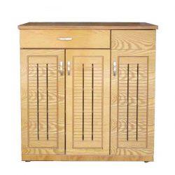 Tủ giầy gỗ phủ vân gỗ sồi MS8604
