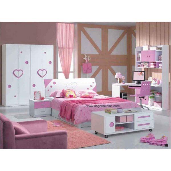 Bộ phòng ngủ trẻ em cao cấp MS8698