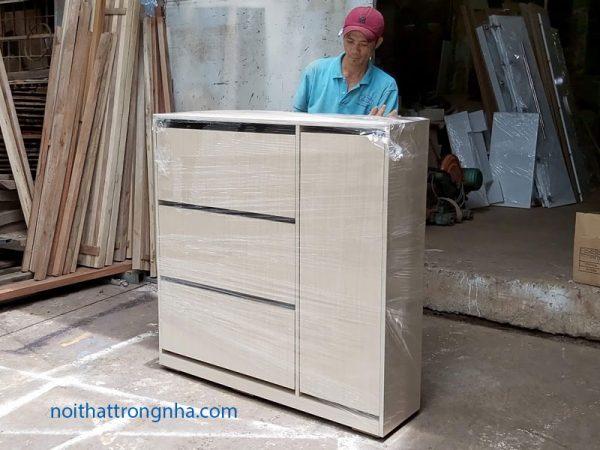 Tủ giày thông minh gỗ công nghiệp