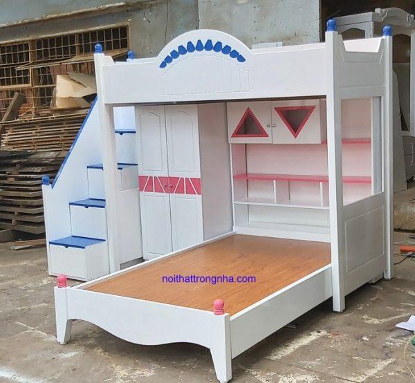 Giường tầng dành trẻ em