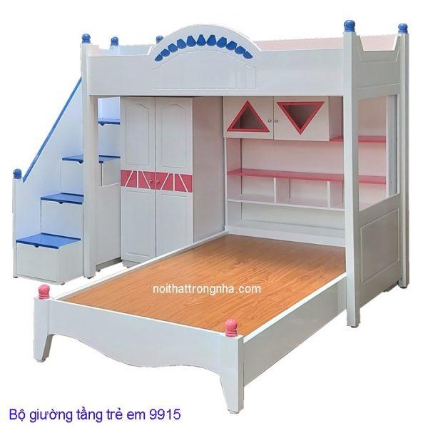 Bộ giường tầng trẻ em