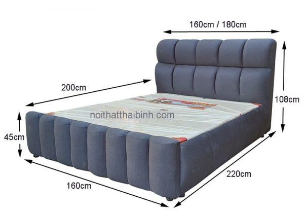 Kích thước giường nệm