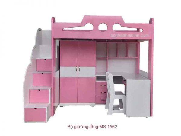 giường 2 tầng kết hợp bàn học